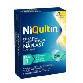 NiQuitin Clear 21 mg emp tdm 1x7 ks