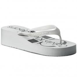 Žabky CALVIN KLEIN JEANS - Tesse Jelly RE9734 White