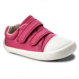 Poltopánky CLARKS - Tiny Treasure 261336026 Pink Canvas