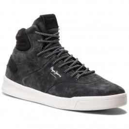 Sneakersy PEPE JEANS - Btn 01 PMS30472 Anthracite 982