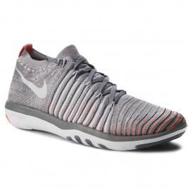 Topánky NIKE - Free Transform Flyknit 833410 006 Cool Grey/Pure Platinum